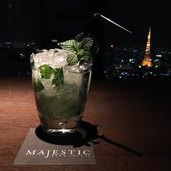 Mojito in der Majestic Bar & Lounge Tokio