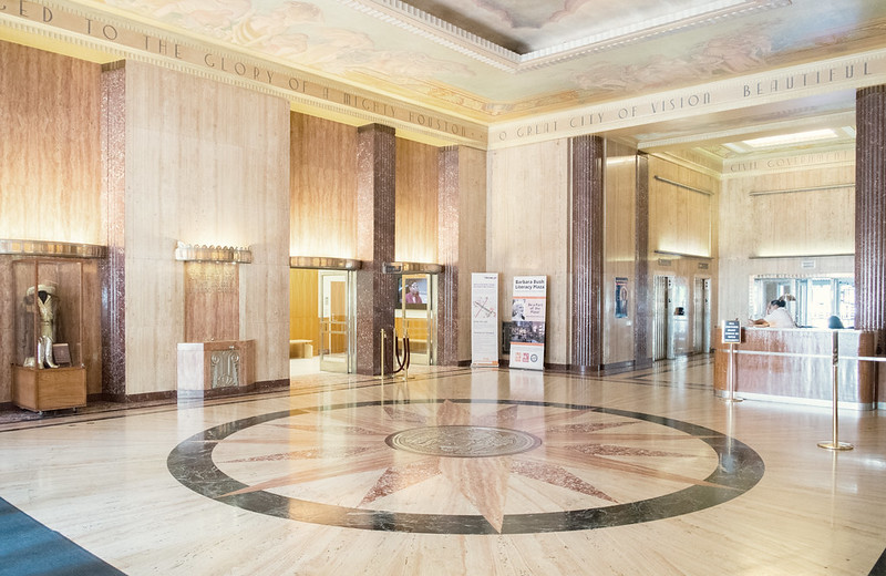 Lobby, City Hall, Houston, Texas 1703281217