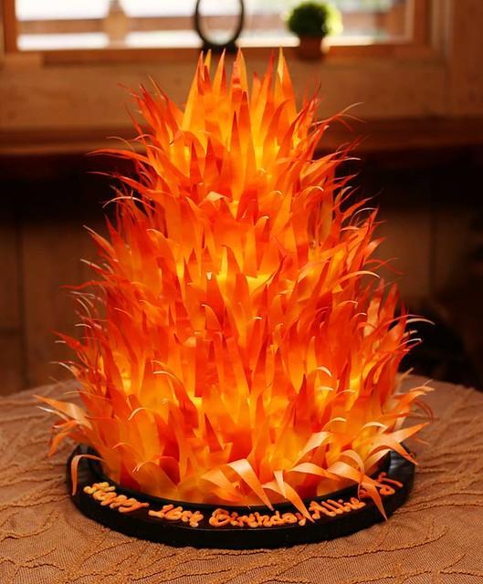 Cake by Kitti's Kakes of southside Virginia