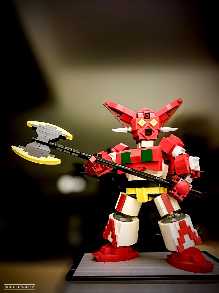 Getter 1 (custom built Lego model)