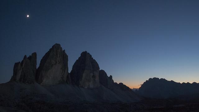 Mountain high at night