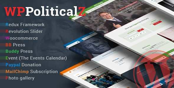 WPPoliticalz WordPress Theme free download