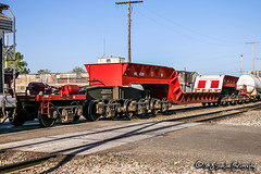 KRL 163200 | Depressed Flat Car | BNSF Thayer South Subdivision