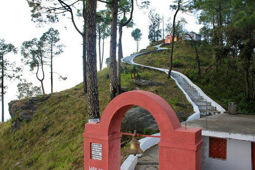 Stairs to the Heaven - Kasar Devi Temple