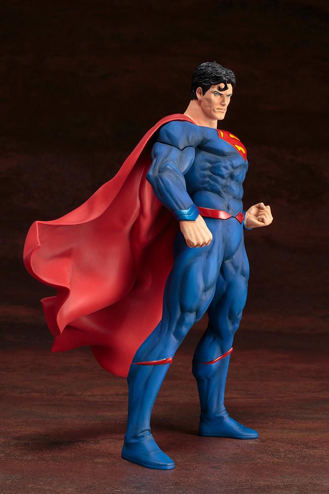 鋼鐵之軀登場!壽屋 ARTFX+ DC UNIVERSE REBIRTH【超人】1/10 比例雕像作品