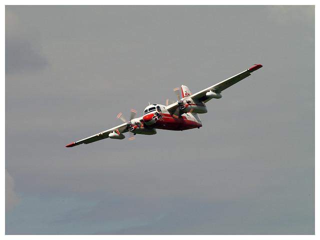 Grumman S2F-1 Tracker - Conair Turbo Firecat -Sécurité Civile - F-ZBEY