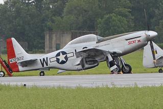 "North American TF-51D Mustang '472922 / L2-W' ""Scat VII"" (PH-VDF)"