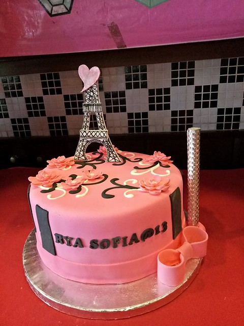 Eiffel Tower Cake by Shayne Etheridge Semerad of Shayne's Sweets