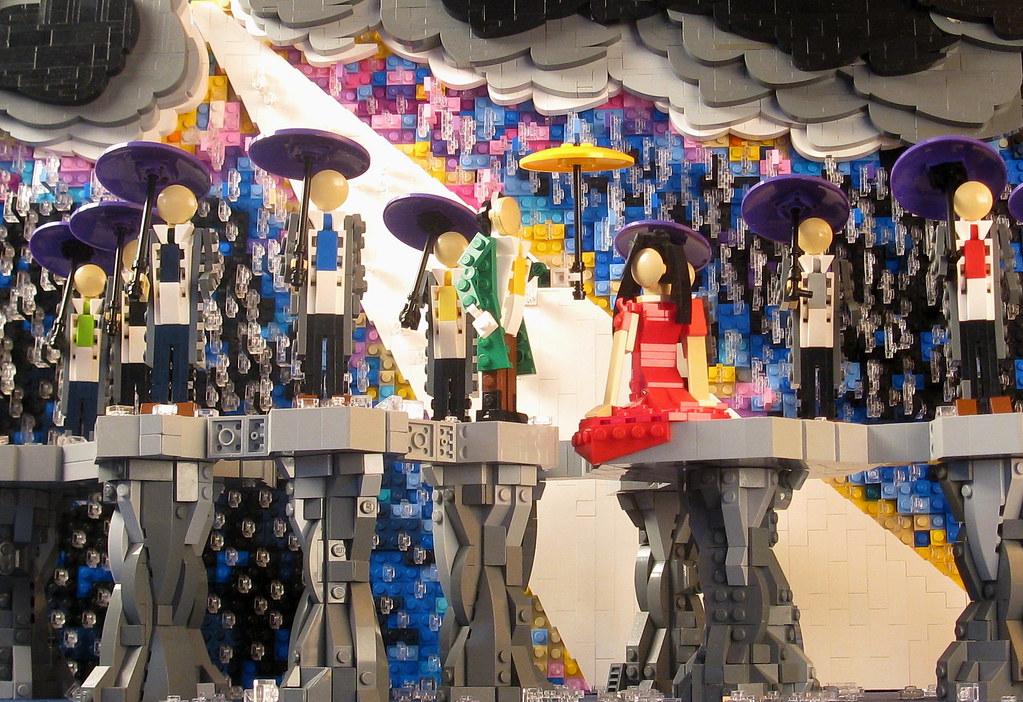 1 (custom built Lego model)