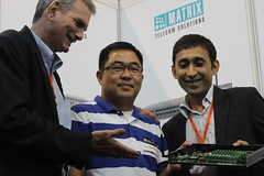 Matrix showcased its telecom solutions at Commworld, Pasay, Philippines (14th -16th August)