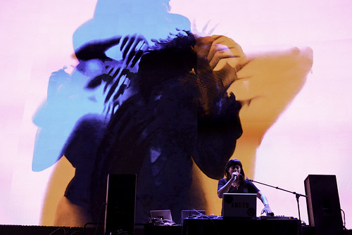 Natasha Kmeto with visuals by Effixx