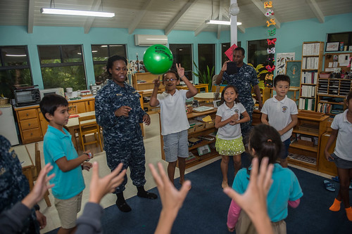 Shiloh Sailors Reach Out in Saipan