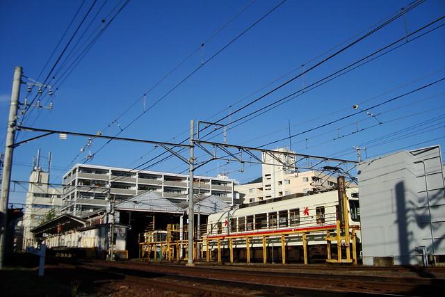 2014/09 叡山電車 ハナヤマタ ヘッドマーク車両 #06
