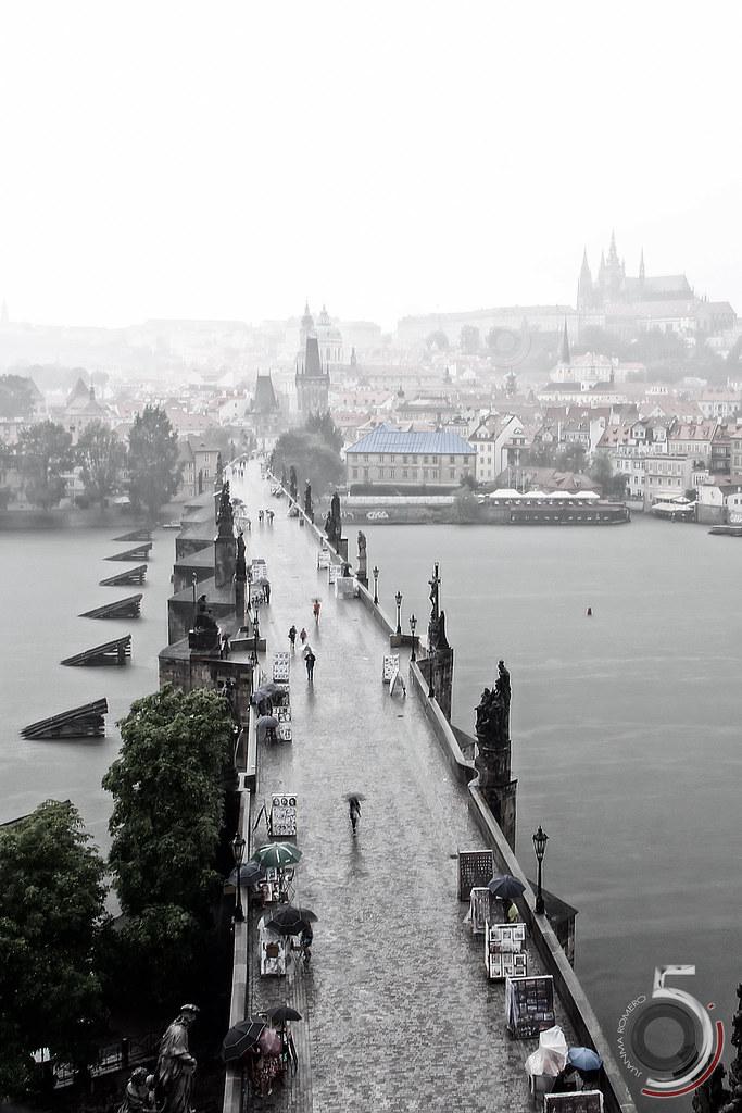 Llueve en Praga