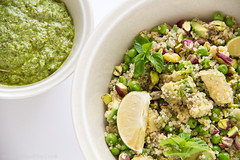 Totally Green Salad with Quinoa – Η Απόλυ�…