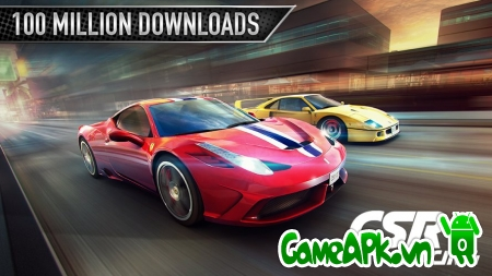CSR Racing v2.0.0 hack full tiền cho Android