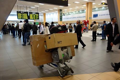 リマ空港で
