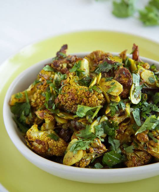 Moorish Roasted Cauliflower