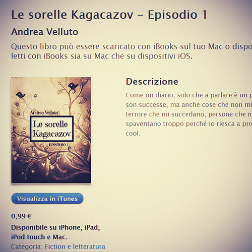 """Le sorelle Kagacazov"" sull'Apple iBook Store"