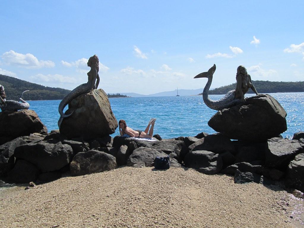 Sirenas en la isla DayDream