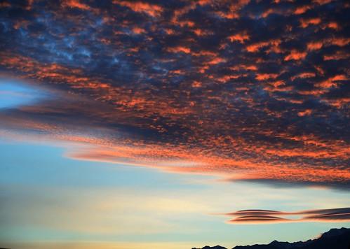 clouds sunup