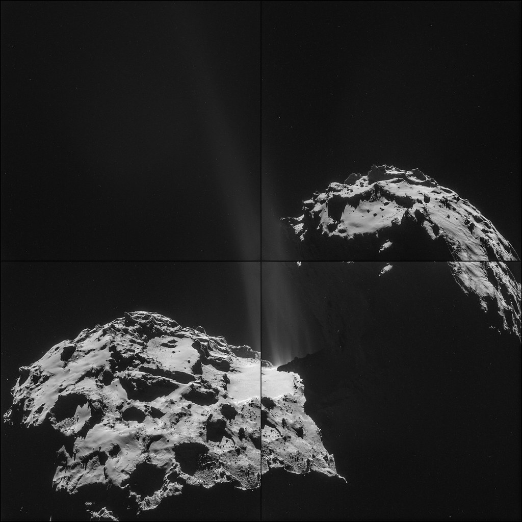 Comet 67P on 26 September – NAVCAM