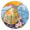 Zentangle-les-bassacs-hollyhocks-lavender-provence-france-ink-watercolor-chriscarterartist-June-2014-600p