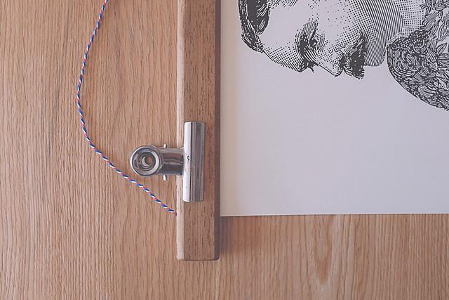 DIY : un encadrement d'affiche de style vintage