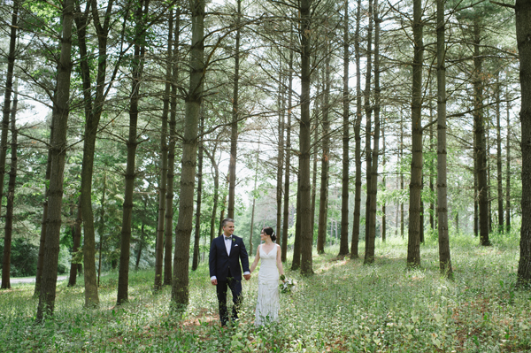 Kiyomi & Paul's beautiful barn wedding (Slit Barn, Cambridge)