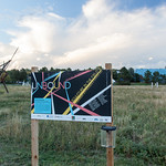 Unbound- Sculpture in the Field 2014 - Photograph by Wes Magyar