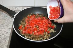 33 - Tomatenwürfel addieren / Add tomato dices