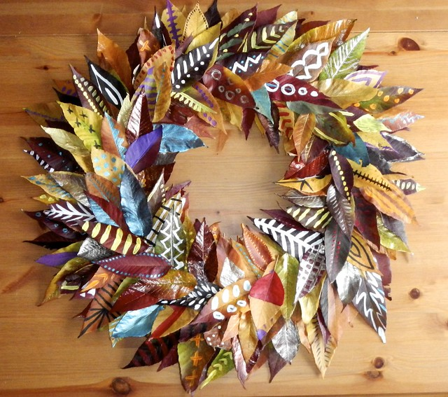Fall Leaf Wreath 26