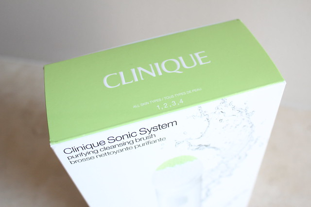 Clinique Sonic System Purifying Cleansing Brush review