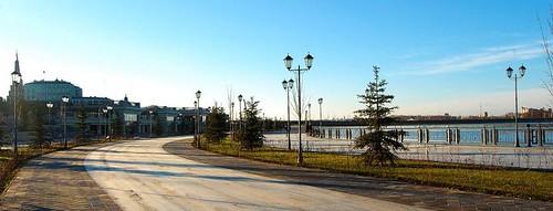 Набережная р. Казанки