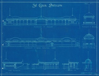 St Clair Pavilion Elevations 1917
