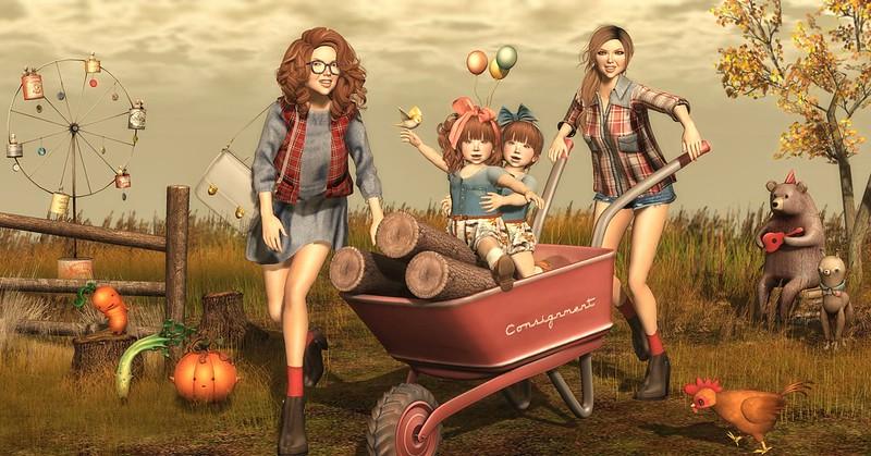 "Amelie et les petites: Episode ""Lumberjack"""
