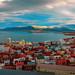 The view over Reykjavik from Hallgrímskirkja by Darcy Moore