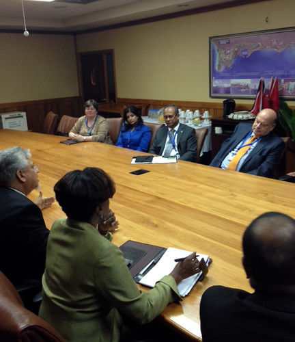 OAS Secretary General meets with Minister of Planning of Trinidad and Tobago