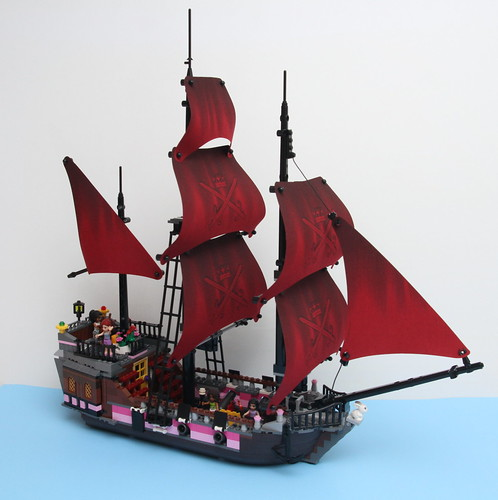lego black pearl moc instructions