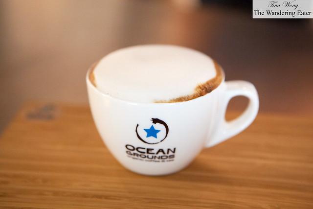 Honeycomb cappuccino