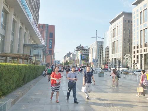 Beijing-Rue Wangfujing (1)