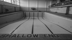Abandoned College Pool, North Island, New Zealand.