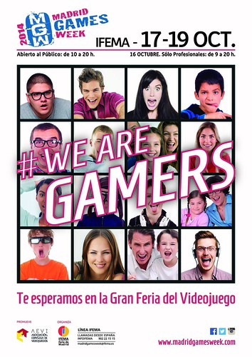 Cartel Madrid Games Week 2014