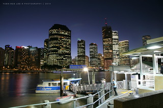 Brisbane City at Night, Australia