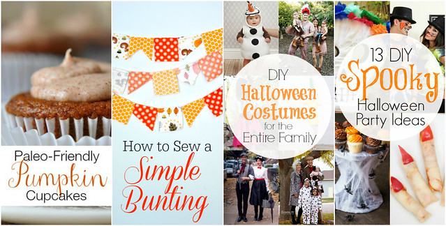 october posts for blissfully domestic