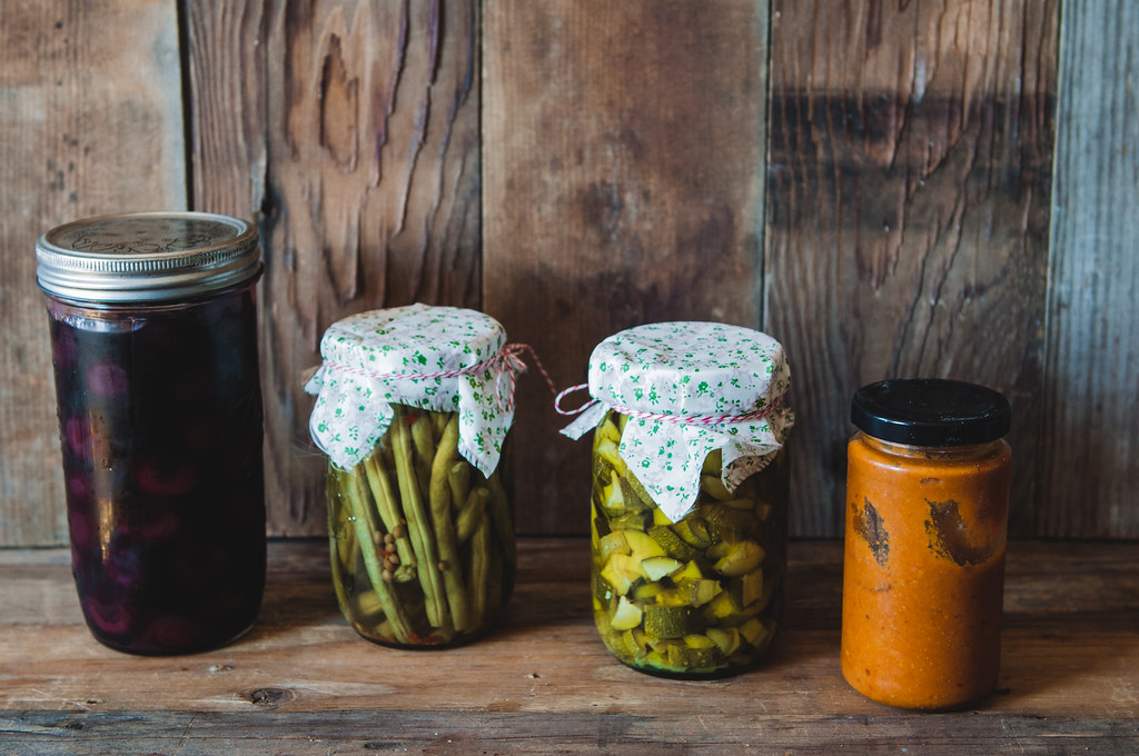 Pickled and preserved