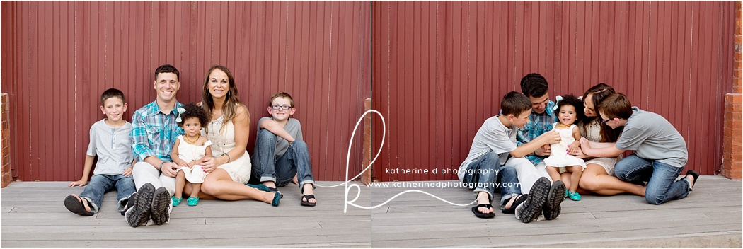 Fun Fayetteville NC Family Photographer