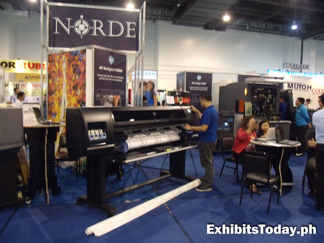 Norde tarpaulin printer
