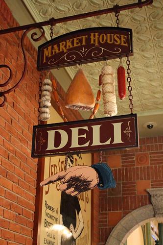 Market House Deli sign