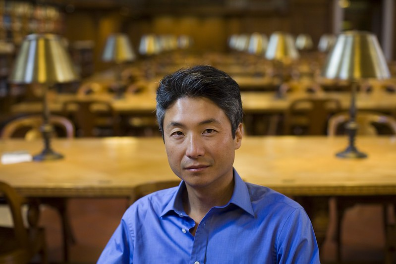 Author Photo - Chang-rae Lee (credit to David Burnett)